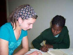 Laura Hagopian, Namibia 2007