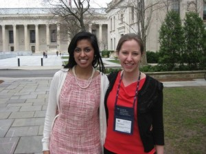 trisha and hilary at yale