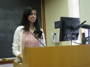 trisha talks at yale